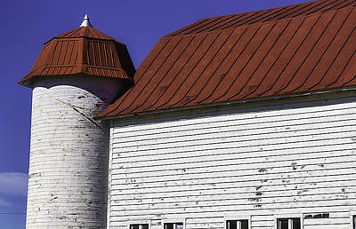 Barnyard Photograph - Red Barn Close Up by Garry Gay