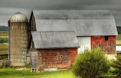 Photograph - Red Barn by Deb Buchanan