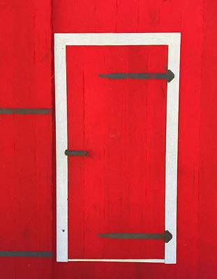 Frank Sinatra - Red Barn Door by Dan Sproul