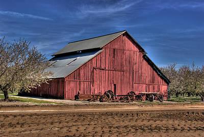 Photograph - Red Barn by Jim and Emily Bush