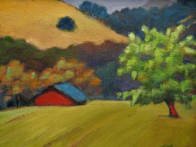 Painting - Red Barn by Gary Coleman
