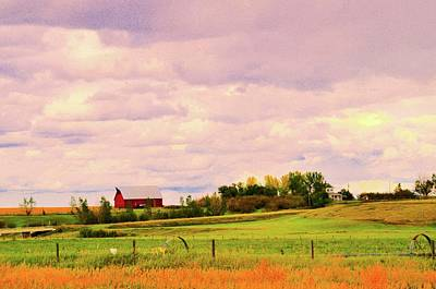 Photograph - Red Barn by Joe Burns