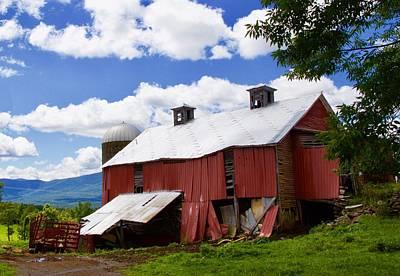 Photograph - Red Barn by John Kearns