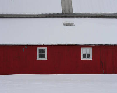Photograph - Red Barn  by Julie Lueders