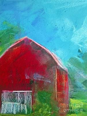 Photograph - Red Barn by Lisa Dionne