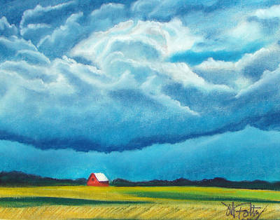 Painting - Red Barn by Michael Foltz