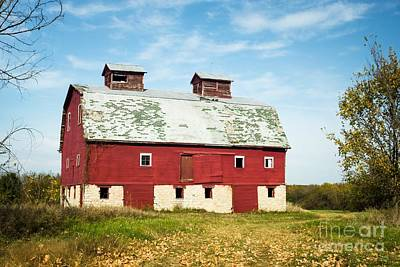 Photograph - Red Barn Of Monroe County by Imagery by Charly