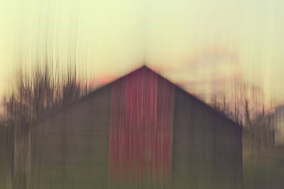 Maine Old Barn Photograph - Red Barn by Olivia StClaire