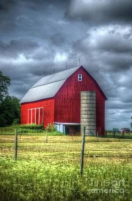 Photograph - Red Barn by Randy Pollard