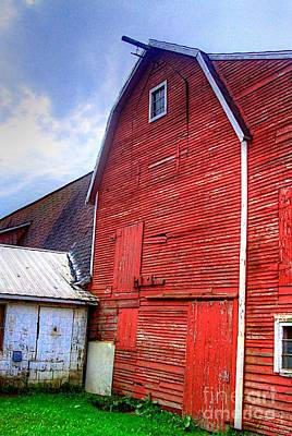 Realism Photograph - Red Barn by Robert Pearson