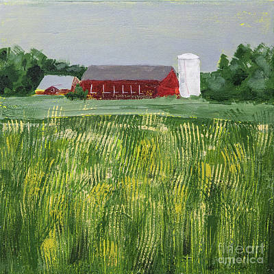 Painting - Red Barn by Susan Cole Kelly Impressions