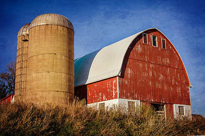 Photograph - Red Barn by Susan McMenamin
