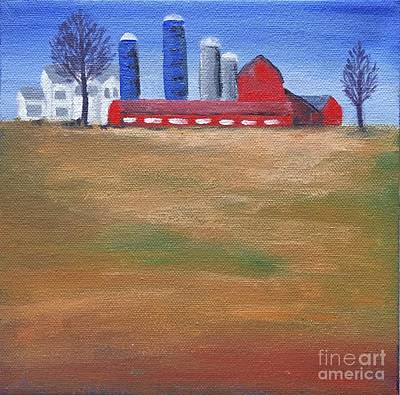 Painting - Red Barn by Tonya Henderson