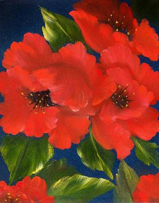 Painting - Red Beauty by Joni McPherson