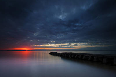 Photograph - Red Beginnings by CA  Johnson