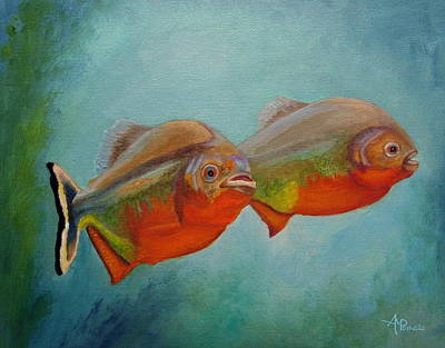 Red Bellied Fish Original