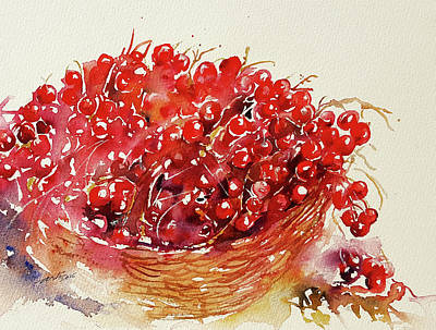 Painting - Red Berries by Arti Chauhan