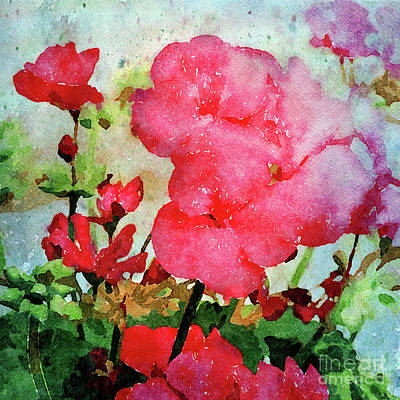 Digital Art - Red by Betty LaRue