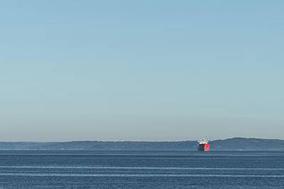 Photograph - Red Boat 1 by Davin McLaird
