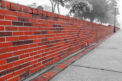 Art Print featuring the photograph Red Brick by Doug Camara