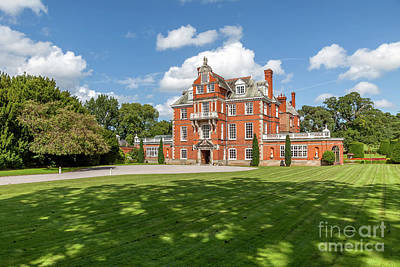 Photograph - Red Brick Mansion by Adrian Evans
