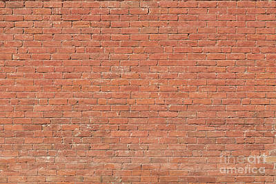 Photograph - Red Brick Wall by James BO Insogna