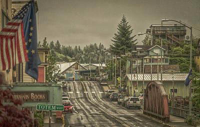 Photograph - Red Bridge Haze by Timothy Latta