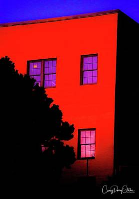 Photograph - Red Building  by Craig Perry-Ollila