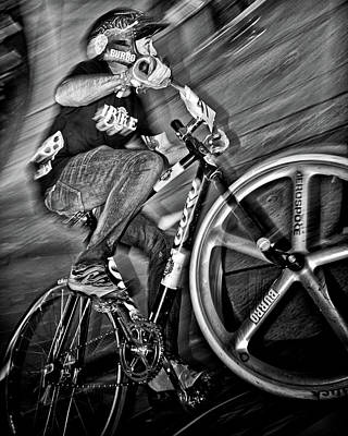 Photograph - Red Bull Mini Drome Race Day Toronto Canada by Brian Carson