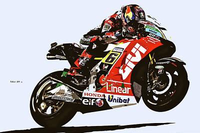 Red Bull Motorcycle Racer Original