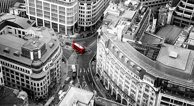 Photograph - Red Bus Of London by John Williams
