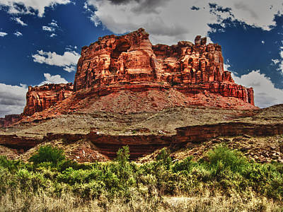 Red Butte Print by Gary Baird