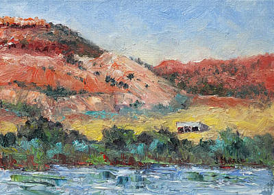 Painting - Red Butte Ranch by Jill Musser
