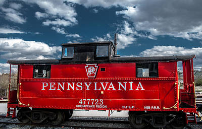 Photograph - Red Caboose by Wayne King