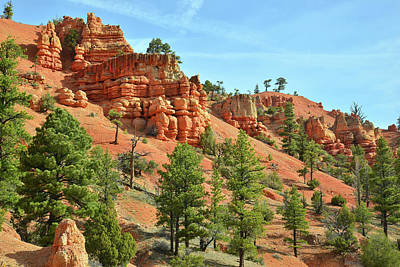 Photograph - Red Canyon Campground View by Ray Mathis