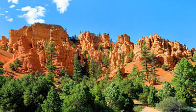 Photograph - Red Canyon by Frank Houck