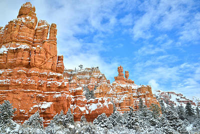 Photograph - Red Canyon Scenic Byway 12 by Ray Mathis