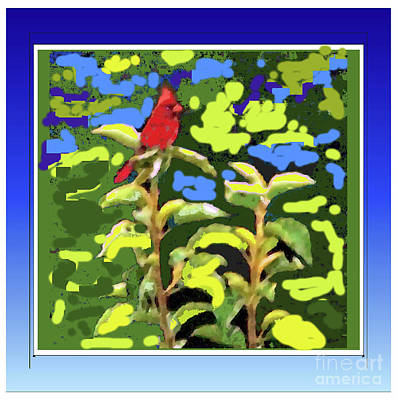 Photograph - Red Cardinal by Shirley Moravec