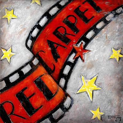 Red Carpet 2 Original by Janet  Kruskamp