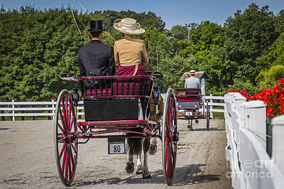 Photograph - Red Carriage by Joann Long