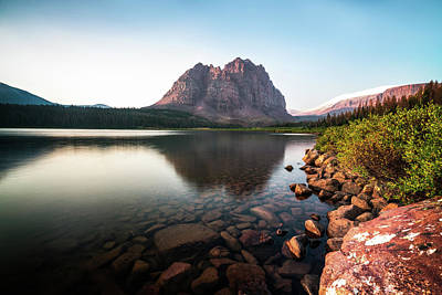 Photograph - Red Castle Mountain Utah by James Udall