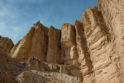Photograph - Red Cathedral In Golden Canyon, Death Valley Ca by Michael Bessler