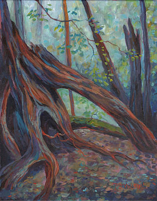 Painting - Red Cedar by Peggy Wilson