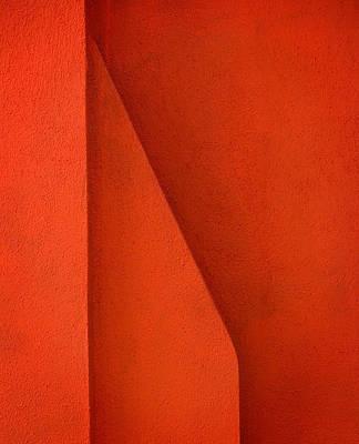 Photograph - Red Chimney Burano Italy by Bob Coates