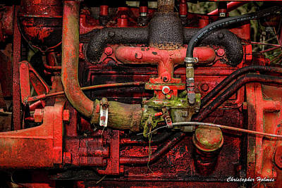 Art Print featuring the photograph Red by Christopher Holmes