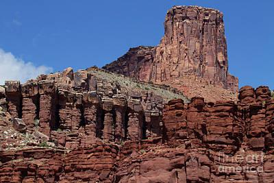Photograph - Red Rock Citadel by Jim Garrison