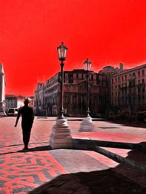 Red City  Original by Daniel Arrhakis