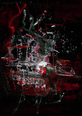 Photograph - Red City by LAF Art