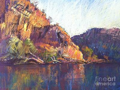 Red Cliffs Original by Pamela Pretty