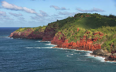 Photograph - Red Cliffs by Randy Hall